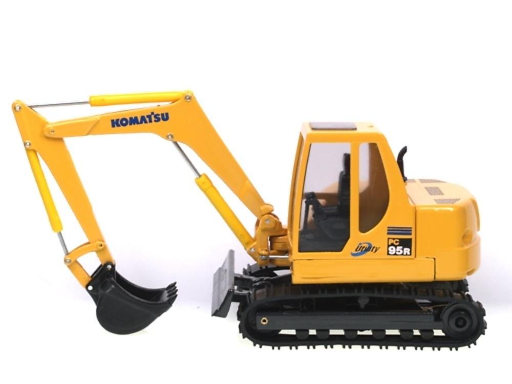 Komatsu PC95 R excavadora Old Cars 62600 escala 1/35