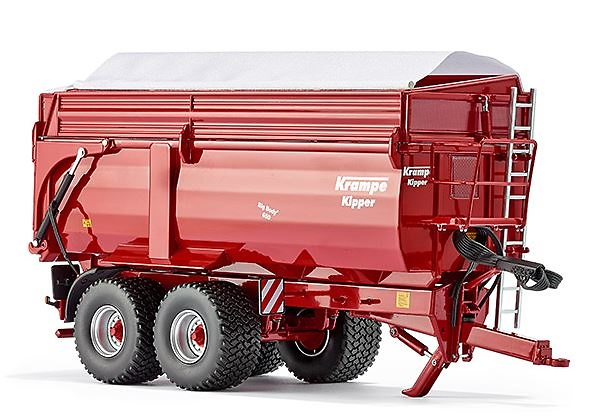 Krampe Big Body 650 Wiking 77339 Masstab 1/32