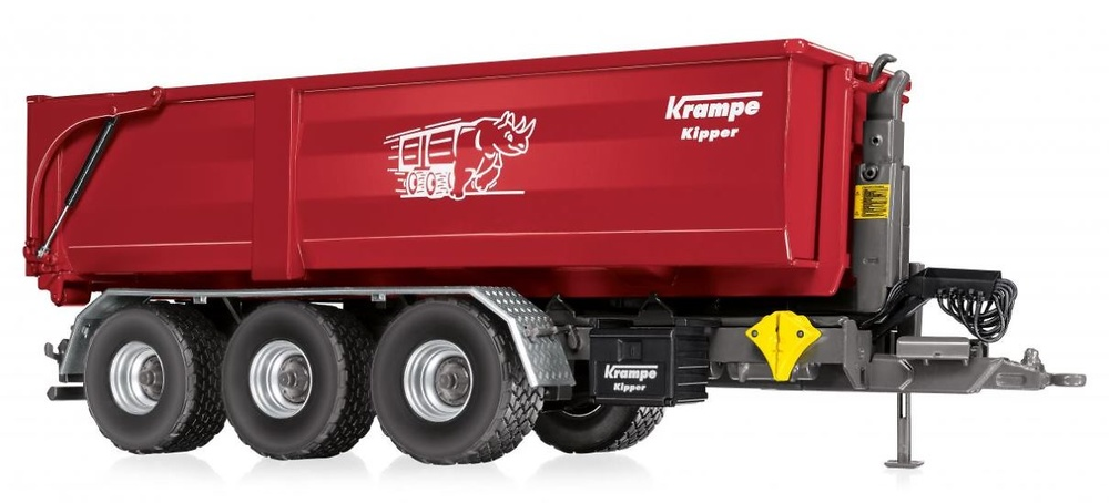 Krampe THL 30 L + Contendor Big Body 750 Wiking 77826 escala 1/32