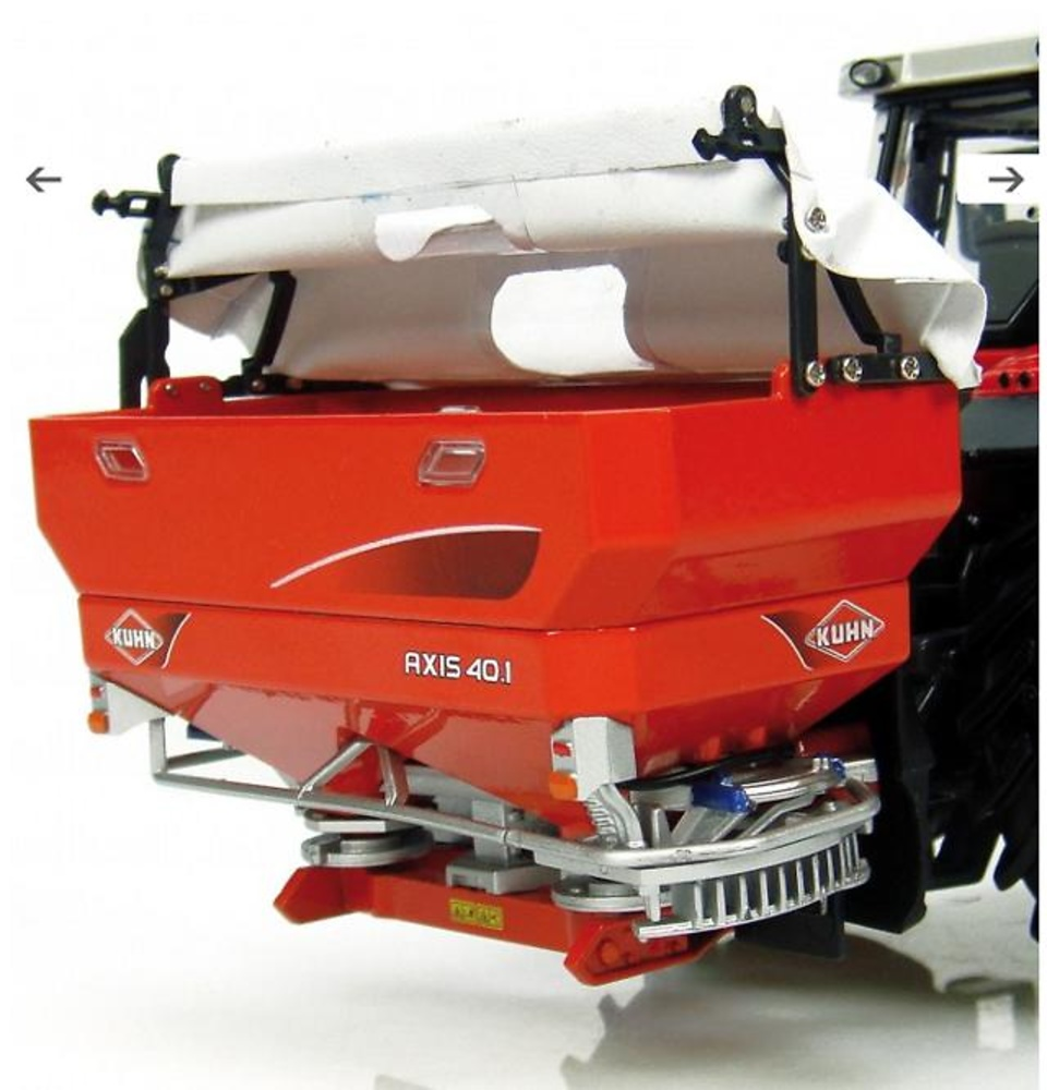 Kuhn 40.1 sprayer with soft top cover, Universal Hobbies 1/32 2908