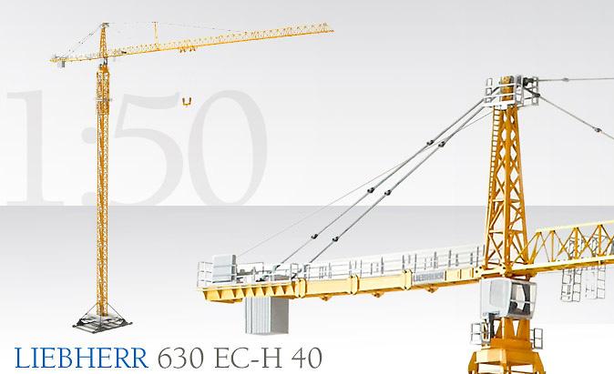 Liebherr 630 EC-H 40 Grúa torre, Conrad 2050 escala 1/50