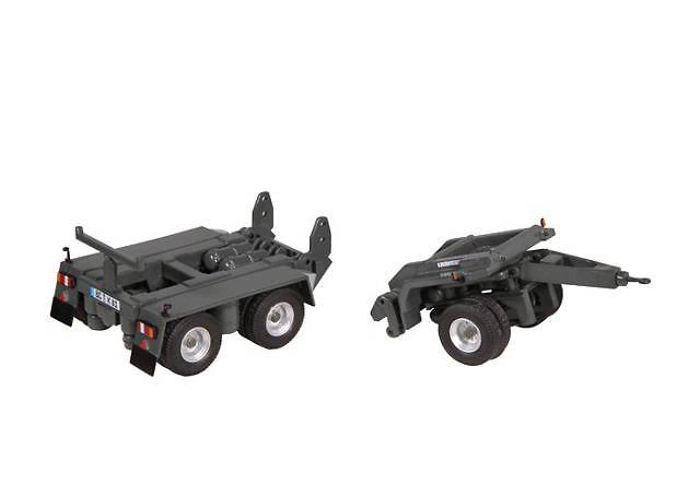 Liebherr 81 K ruedas para el transport Nzg Modelle 870/20 escala 1/50