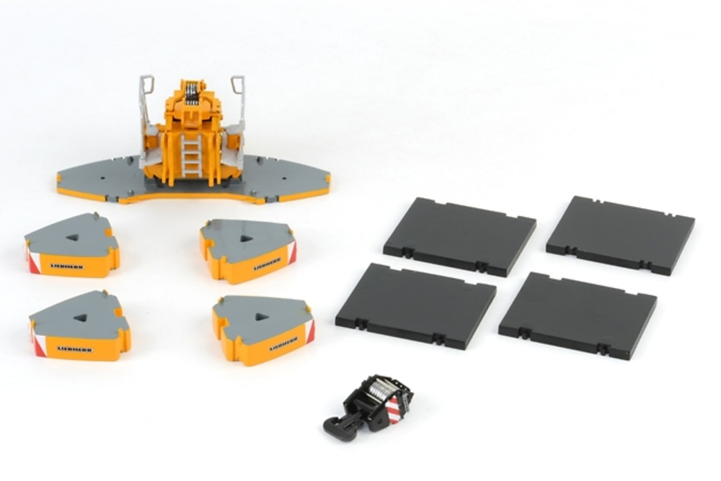 Liebherr Ballastset LTM 1350, Wsi Models 1/50