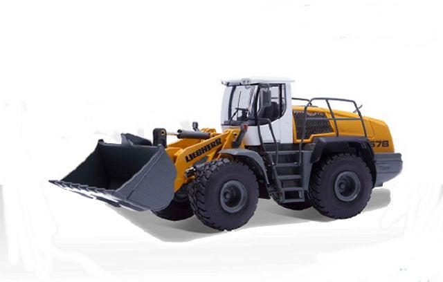 Liebherr L 576 pala cargadora, Conrad Modelle 1/50 2443