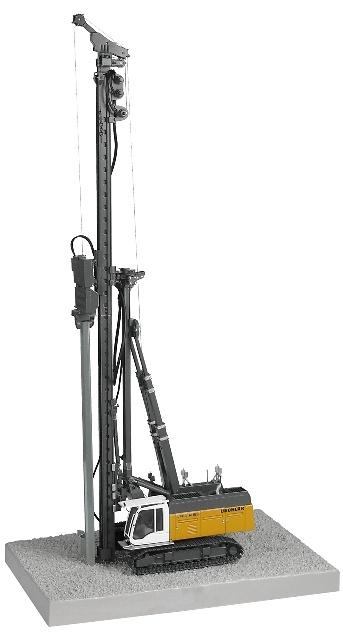 Liebherr LRB 255 Litronic, NZG 668 escala 1/50