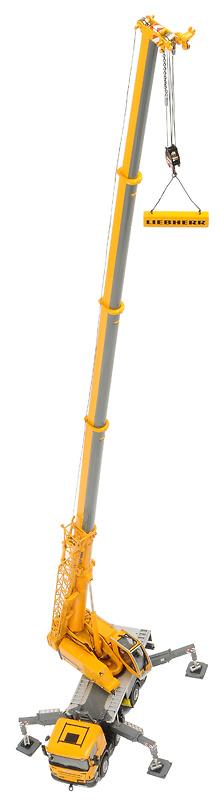 Liebherr LTF1060-4.1 grua autopropulsada, Wsi Models 04-1036 escala 1/50