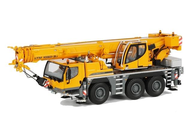Liebherr LTM 1050 -3.1 Grua Autopropulsada WSI Models 1037 escala 1/50