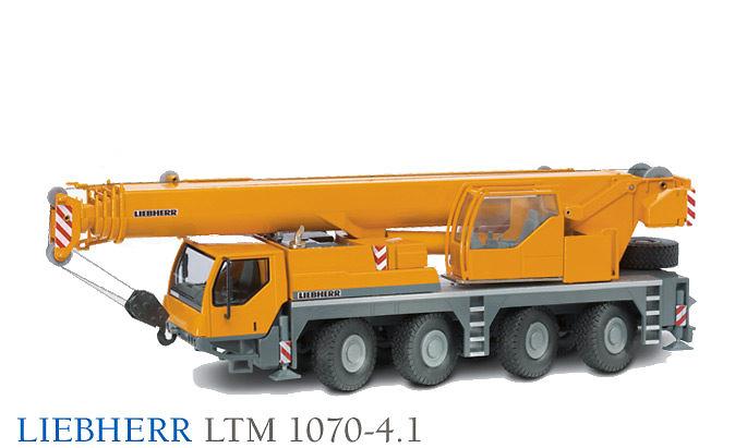 Liebherr LTM 1070-4.1 Grúa Autoprop. Conrad 2100 escala 1/50