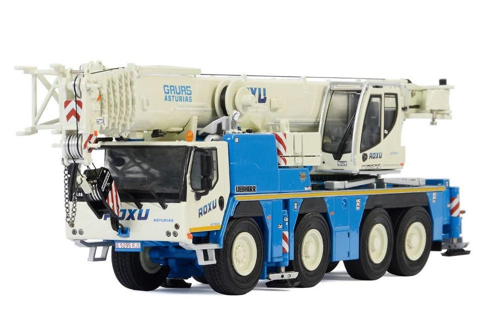 Liebherr LTM 1090-4.2 Roxu WSI Models escala 1/50