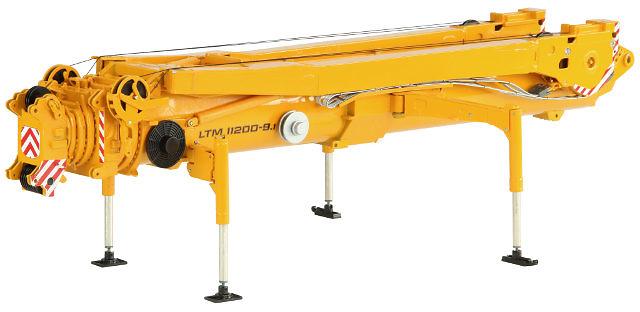 Liebherr LTM 11200 brazo principal T7, NZG 1/50