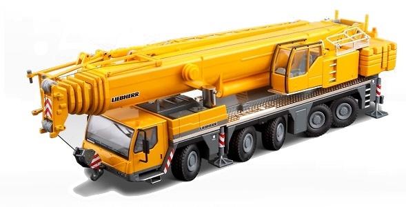 Liebherr LTM 1200-5.1 Grua Autopropulsada, Conrad 2101/0 escala 1/50