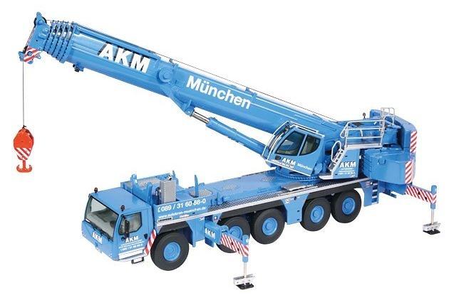 Liebherr LTM 1250-5.1 version Akm Muenchen Nzg Modelle 959/01