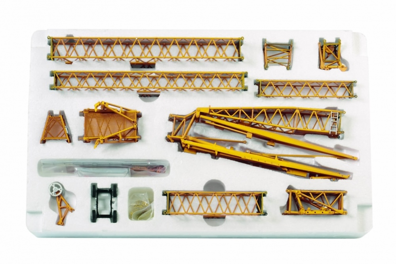 Liebherr LTM 1350 Luffing Jib Wsi Models 04-1120 escala 1/50