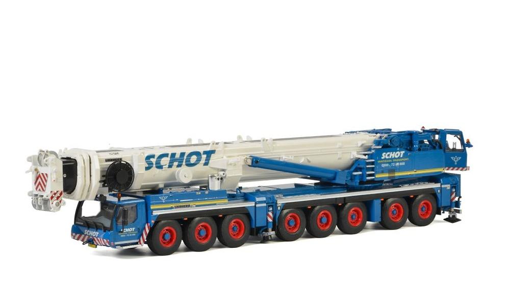 Liebherr LTM 1500-8.1 Schot Wsi Models 51-2029 escala 1/50