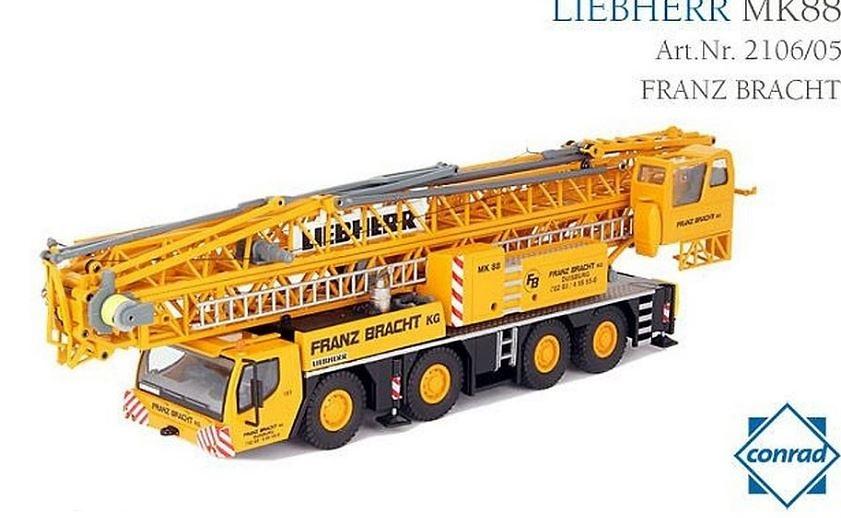 Liebherr MK88 - Franz Bracht Conrad 2106/05 escala 1/50
