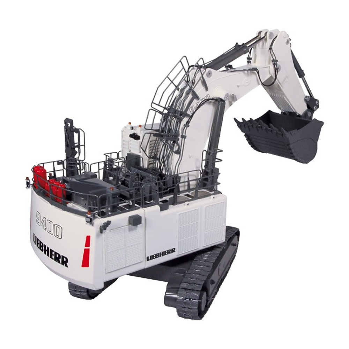 Liebherr R 9400 retro excavadora minieria Nzg Modelle 8601 escala 1/50