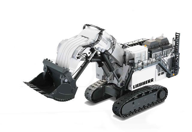 Liebherr R 9800 excavadora mineria, Conrad Modelle 1/50 2942