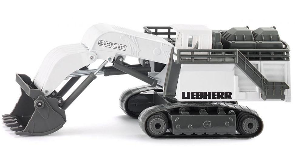 Liebherr R9800 excavadora mineria Siku 1798 escala 1/87