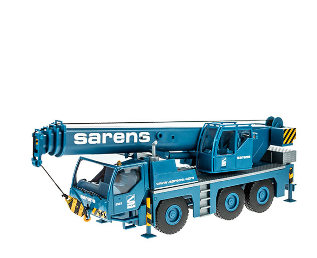 Liebherr grua juguete Sarens escala 1/50