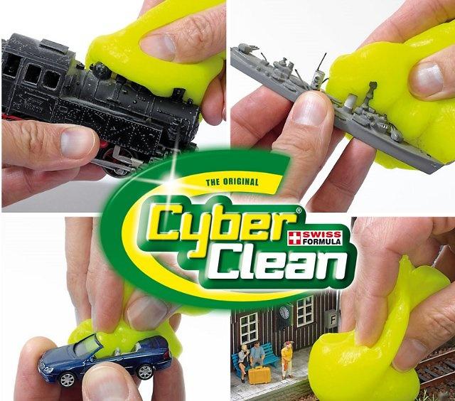 Limpiador Cyber Clean para todo tipo de miniaturas a escala y maquetas, Busch
