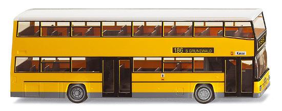 MAN D89 Bus Doble Piso Amarillo Wiking 1/87