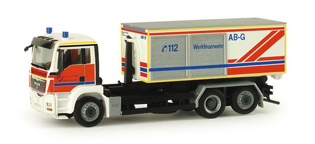 MAN TGS M contenedor Herpa 047944 escala 1/87