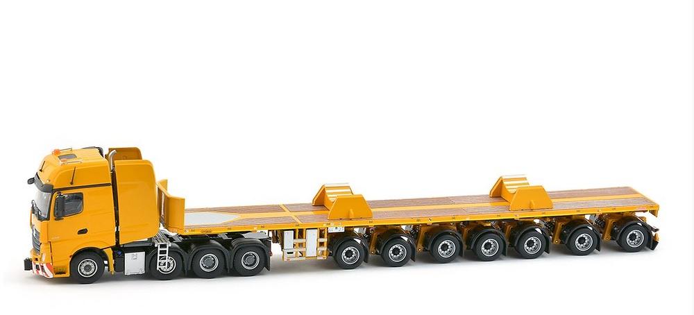 MB Actros 2 Gigaspace 8x4 + Nooteboom 7 ejes Ballasttrailer + Imc Models 0051