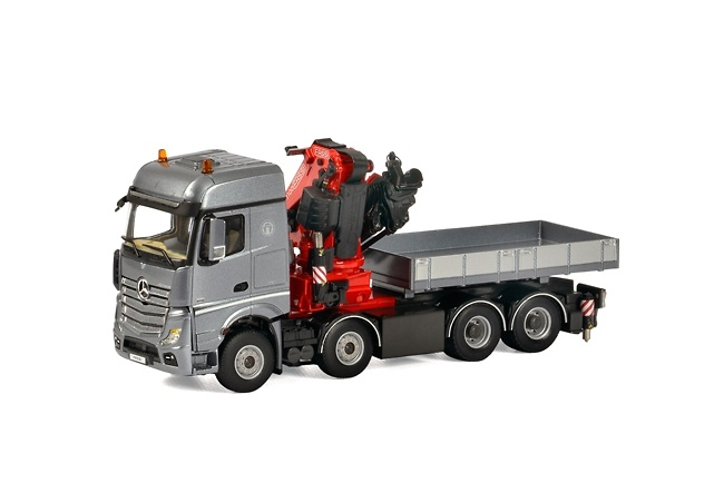 MB Actros Big Space Fassi 1100 + Ballast box Wsi Models 04-1166