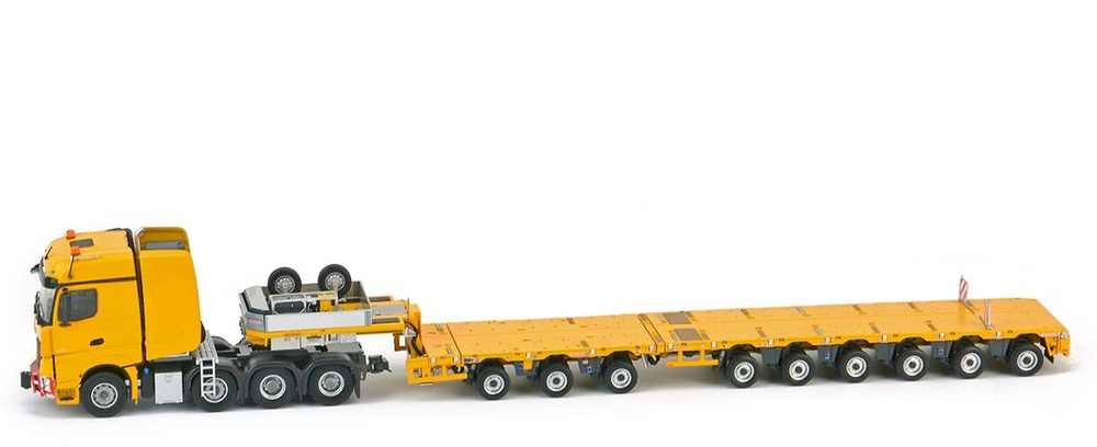 MB Arocs BigSpace 8x4 Nooteboom MCO-PX 3+6 axle Imc Models 0050