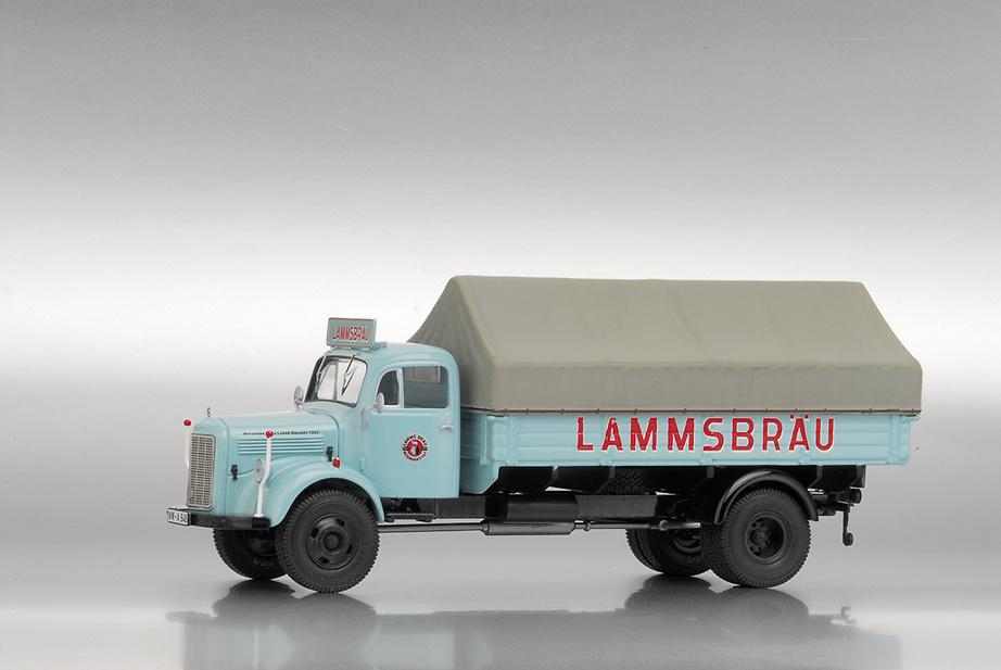 MB L3500 Caja c/Toldo LAMMSBRÄU PCXXs 1/43