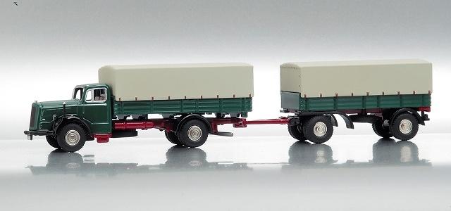 MB L6600 Camión c/Remolque Bub 07252 1/87