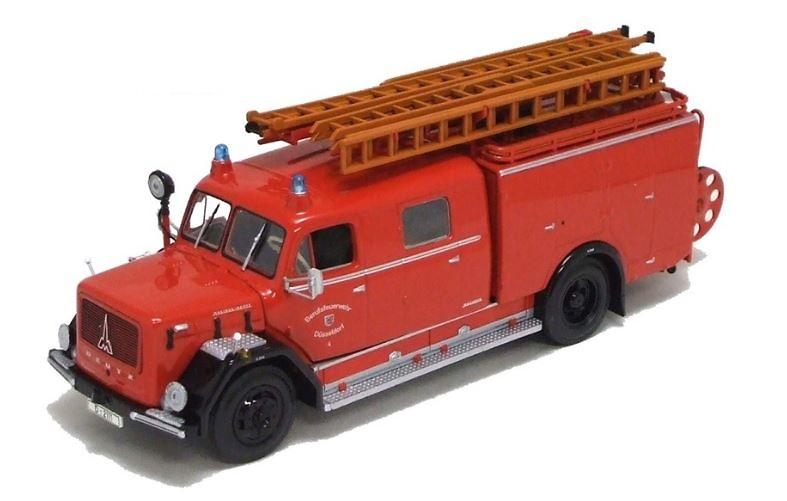 Magirus-Deutz 150D 10 LF Bomberos Duesseldorf Minichamps escala 1/43