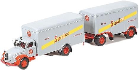 Magirus Deutz S6500 Caja Sinalco Minichamps 499 141940 escala 1/43