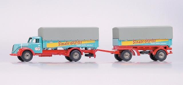 Magirus S6500 Camión c/remolque Sinalco Bub 1/87