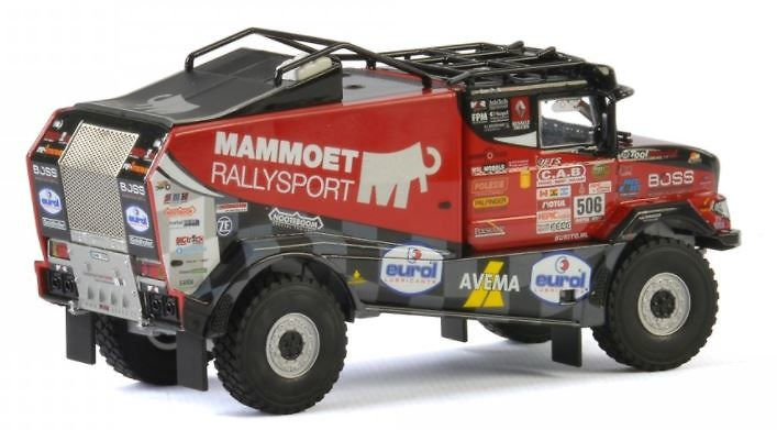 Mammoet Dakar Truck 2018 Wsi Models 410227 escala 1/50