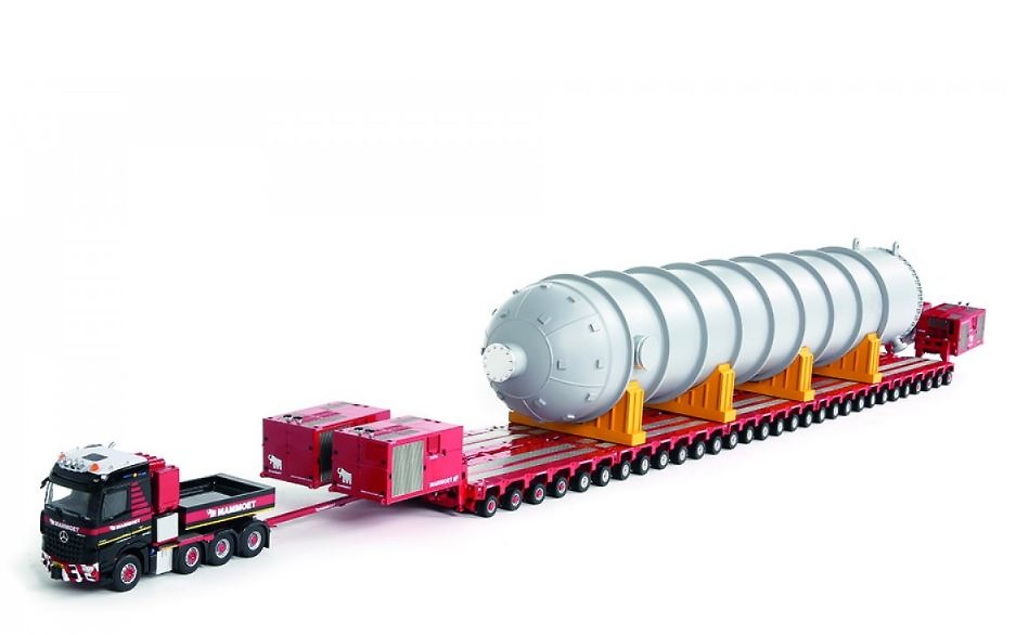 Mammoet MB Arocs 8x4 + K25 60 liner + 4 x 1000HP PPU + reactor Imc Models 410215
