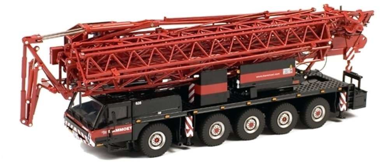 Mammoet Spierings SK599 AT5 Grua 5 ejes, Wsi Models 410001 escala 1/50