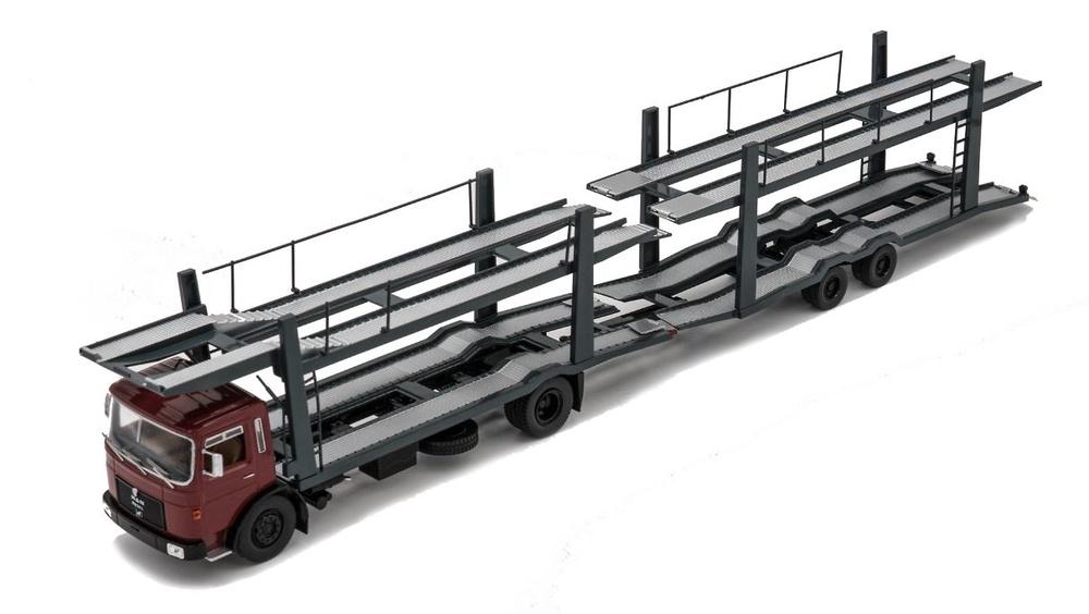 Man 19.320 car transporter 1970 Ixo Models 1/43