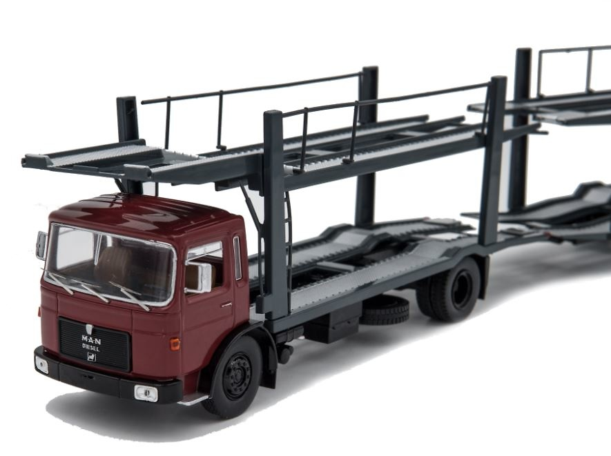 Man 19.320 transporte coches Ixo Models ttrx007 escala 1/43