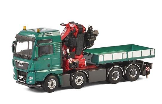 Man Euro 6 TGX xxl + Fassi 1100 + Jib + Ballast box Wsi Models