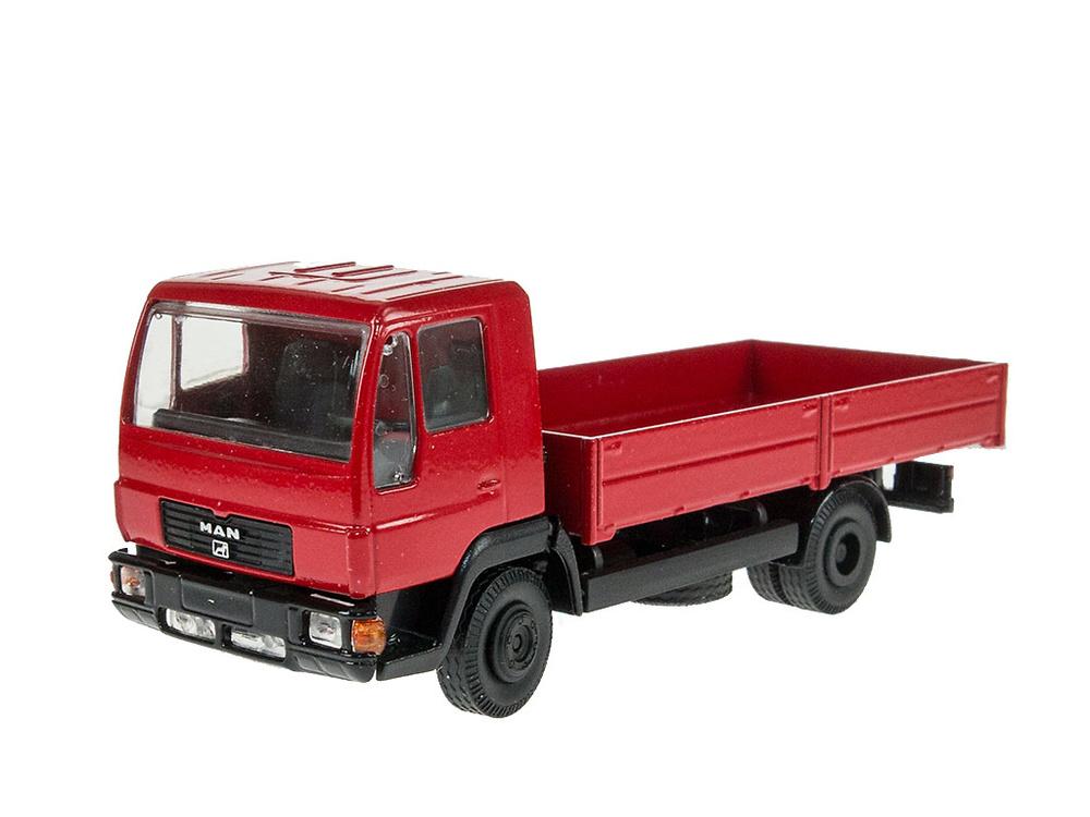Man L 2000 rojo - Conrad Modelle 6036 escala 1/50