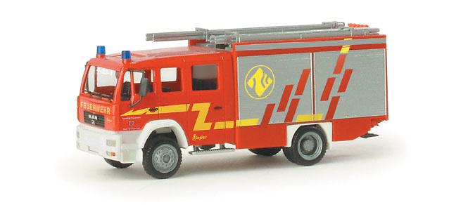 Man Le 2000 LF 20/16 Bomberos Herzogenrath Herpa 048033 escala 1/87