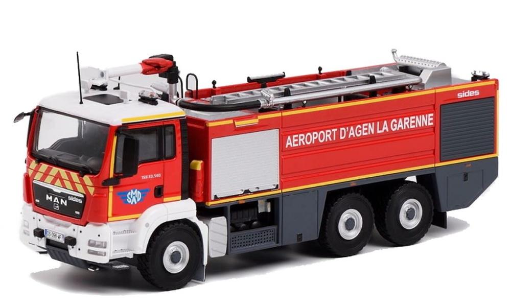 Man Tgs 33.540 Sherpa Aeropuerto bomberos Eligor 115519 escala 1/43