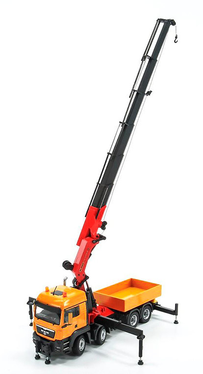Man Tgs 35.480 + Palfinger PK100002 Conrad Modelle 77193 escala 1/50