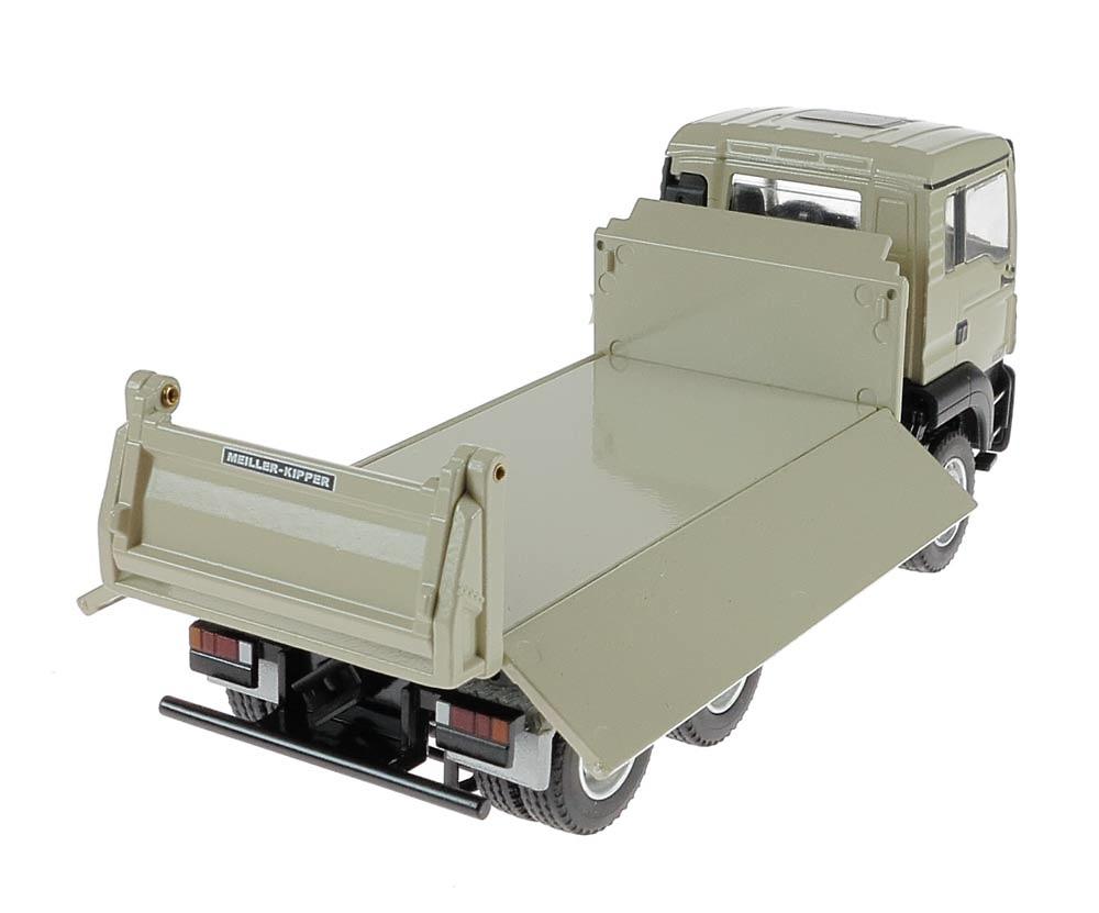 Man Tgs M Euro 6 con caja Meiller volquete en 3 direcciones Conrad Modelle 77181/03 escala 1/50