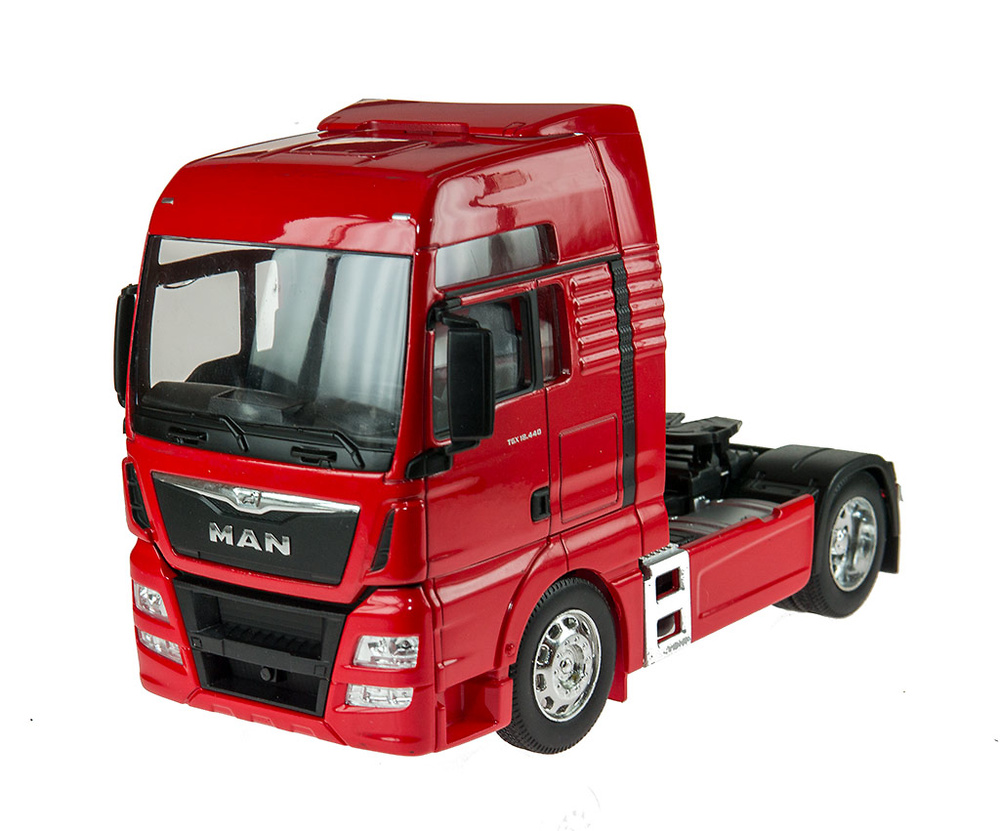 Man Tgx 18.440 (4x2) Rojo Welly 32650s-w escala 1/32