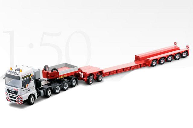MAN TGX 41.540 5-achs faymonville variomax, Conrad Modelle 1/50