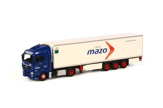 Man Tgx XLX Frigorífico Carrier Grupo Mazo Wsi Models 01-1738