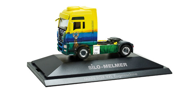 Man Tgx xxl camion Melmer / Tiere Herpa 110440
