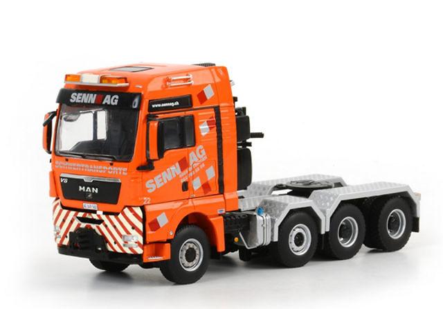 MAN TGX XXL Senn AG, Wsi Models 1084 escala 1/50